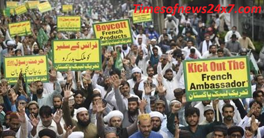 Protests in Pakistan against Charlie Hebdo
