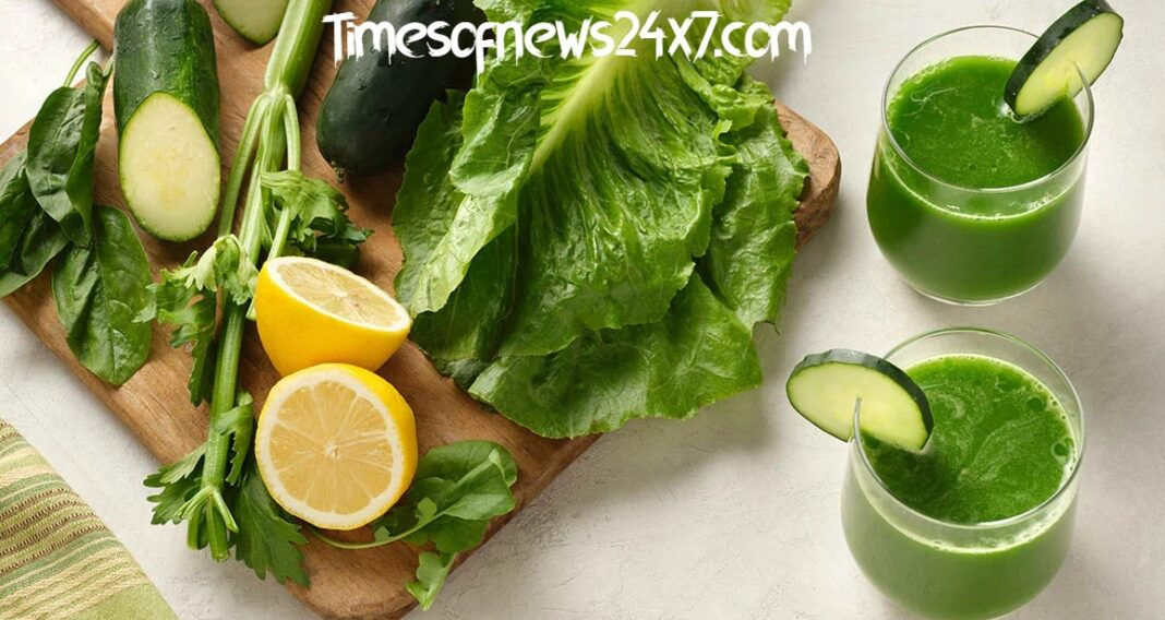 Better Option For Weight Loss - Juice And Green Vegetable