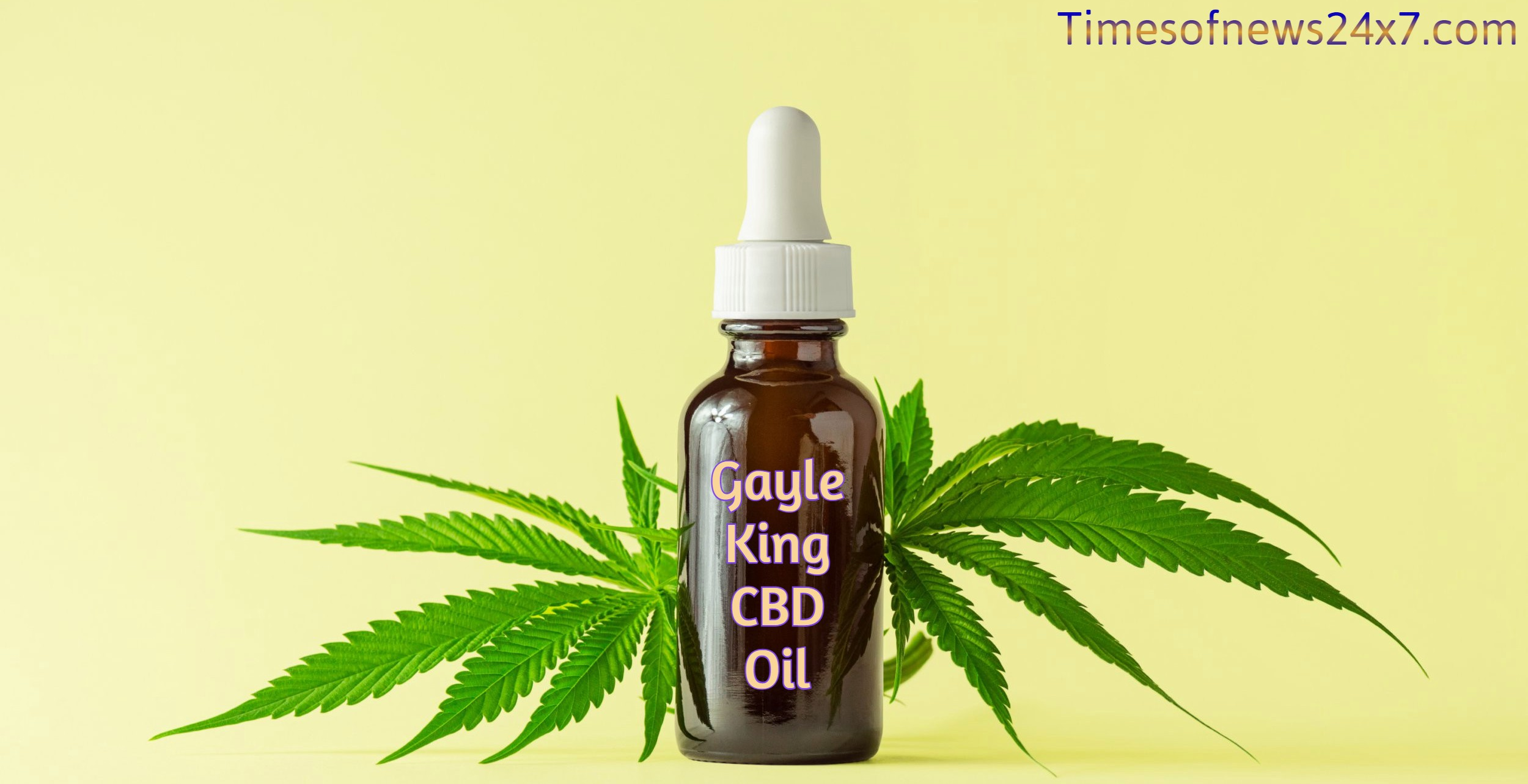 Gayle King CBD Oil