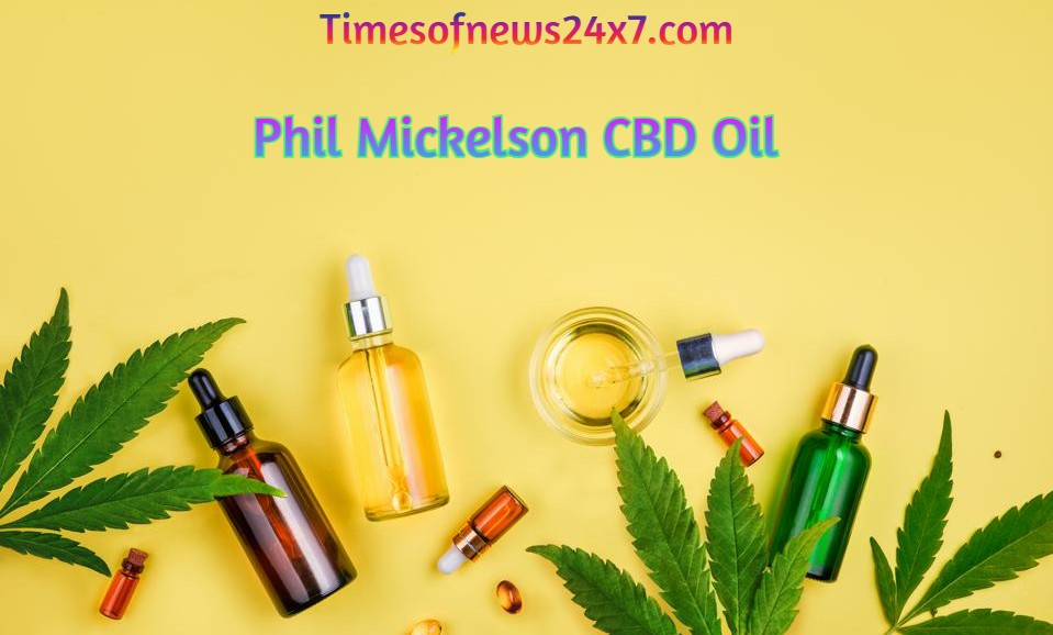 Phil Mickelson CBD Oil