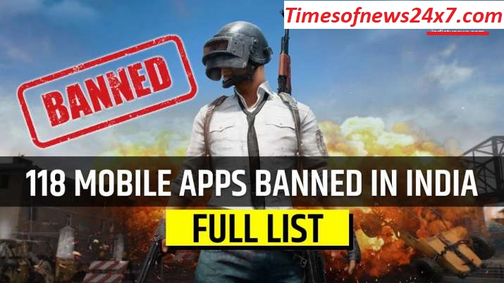 Government Of India Banned The 118 China App